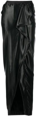 Rick Owens Draped Maxi Skirt