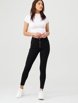Very Earth Friendly Recycled Skinny Jeans - Black