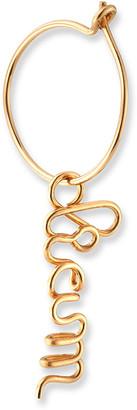 Atelier Paulin Single Personalized Baby Hoop Earring, 1-5