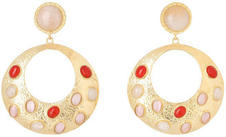 CHRISTIE NICOLAIDES Salsa Earrings Pink/Red