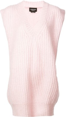 Calvin Klein V-neck knitted top