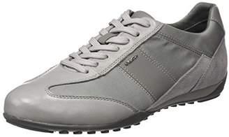 Geox Men's U Wells A Trainers, Grey (Stone C9007)
