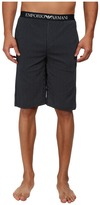Emporio Armani Printed Jersey Bermuda Shorts