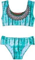 Gossip Girl Girls' Tie-Dyed 2-Piece Swimsuit