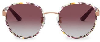 Dolce & Gabbana 52MM Round Sunglasses