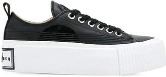 McQ plimsoll platform sneakers
