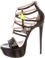 Ruthie Davis Faithful Caged Sandals