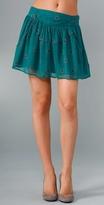 IRO Print Miniskirt