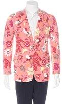 Dolce & Gabbana Floral Print Sport Coat