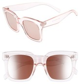 BP Women's 50Mm Square Sunglasses - Pink