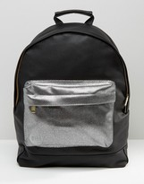 Mi-Pac Exclusive Tumbled Black with Pebbled Contrast Pocket