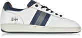 D'Acquasparta D'Acquasparta Ghiberti Nappa Leather Flat Men's Sneaker