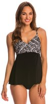 Miraclesuit Between the Pleats Camino Tankini Top 8145985