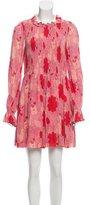 Jill Stuart Scarlet Printed Dress