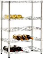 Honey-Can-Do Chrome 4-Tier Wine Rack
