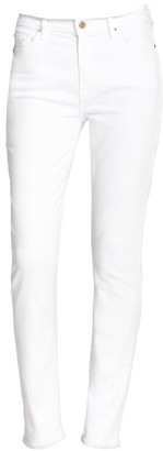JEN7 by 7 For All Mankind Mid-Rise Slim Straight Jeans