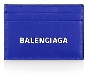 Balenciaga Everyday Logo Credit Card Holder