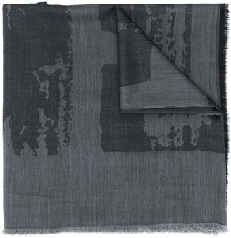 Ermenegildo Zegna Abstract Pattern Scarf