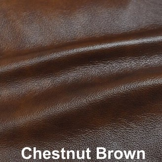 17 Stories Lexus 3 Piece Leather Living Room Set 17 Stories Upholstery Color: Chestnut Brown