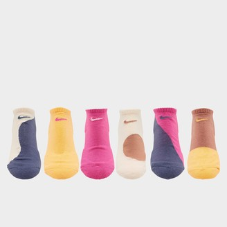 Nike Women's Everyday Cushion 6-Pack No-Show Socks