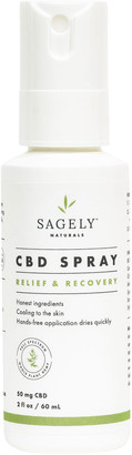 Sagely Naturals Relief and Recovery Extra Strength Spray, 2.0 oz./ 60 mL