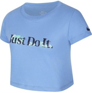 Nike Sportswear Big Girl's Cropped T-Shirt