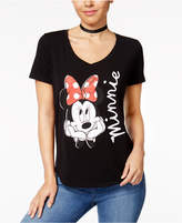 Hybrid Juniors' Minnie Mouse Daydreamer Graphic T-Shirt