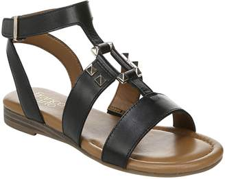 Franco Sarto Adjustable Leather Sandals - Genova