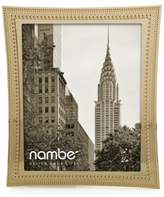 "Nambe 8"" x 10"" Beaded Gold Frame"