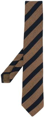 Church's striped pointed tip tie