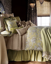 Horchow French Laundry Home Spring Garden Striped Queen Coverlet