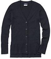 IZOD EXCLUSIVE Izod Exclusive V Neck Long Sleeve Knit Cardigan - Big Kid