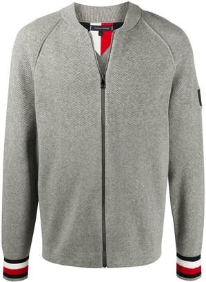 Tommy Hilfiger Logo Zipped Cardigan