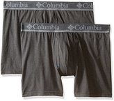 Columbia Men's 2-Pack Performance Cotton Stretch Boxer Brief