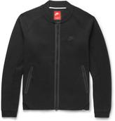 Nike Cotton-blend Tech Fleece Varsity Jacket