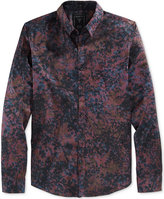 GUESS Men's Long-Sleeve Howell Floral-Print Shirt
