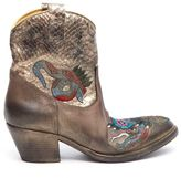 Elena Iachi Embroidered Texas Boots
