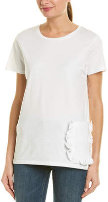 French Connection Ruffle T-Shirt