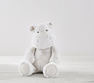 Pottery Barn Kids Gray Hippo Nursery Plush