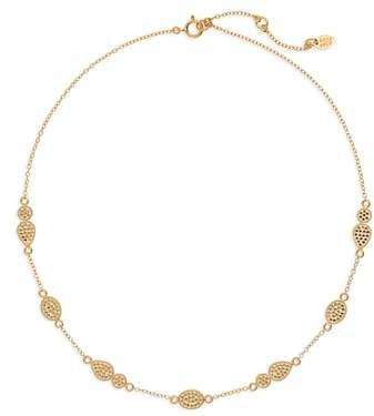 Anna Beck Gold Station Collar Necklace