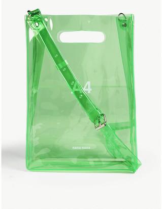 NANA-NANA B6 neon PVC cross-body bag