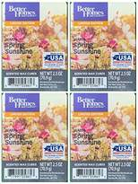 Better Homes & Gardens Better Homes and Gardens Warm Spring Sunshine Wax Cubes - 4-Pack