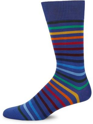 Paul Smith Rainbow Stripe Knit Socks