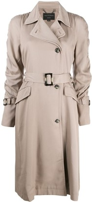 AllSaints Belted Trench Coat