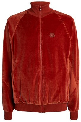 Kenzo Velvet Tiger Crest Track Jacket