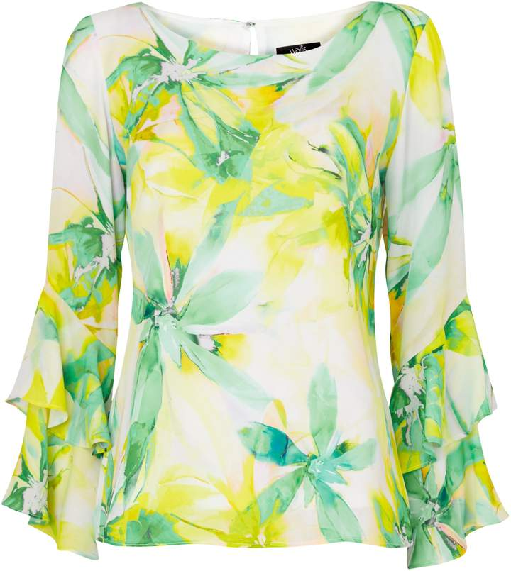 5665971ddb813d Wallis Floral Top - ShopStyle UK