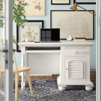 Three Posts Morpeth Desk Finish: Eggshell White