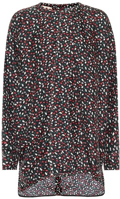 Marni Printed silk top