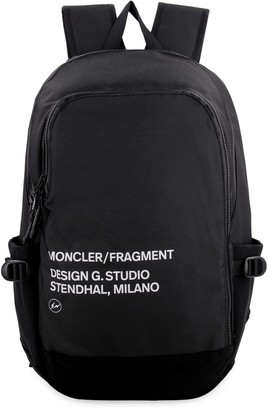 Moncler Logo Detail Nylon Backpack
