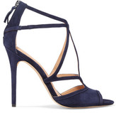 Halston Monica Suede Sandals